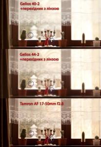 Геліос 40-2, Геліос 44-2, Тамрон 17-50мм 2,8