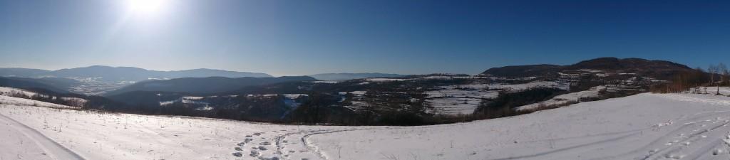 Фото Закарпатських гір зимою