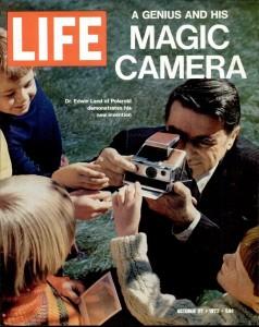 Едвін Ленд на обкладинці журналу «Life»
