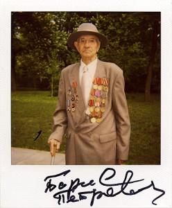 Фотокартка у рамках проекту «Підписи Війни»