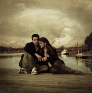 Аарон і Розі – закохані на березі