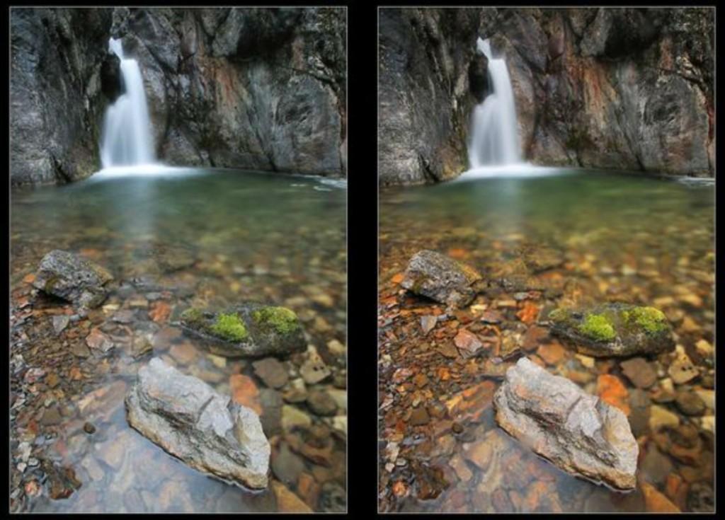Можливості поляризаційного фільтру - пейзажна фотографія