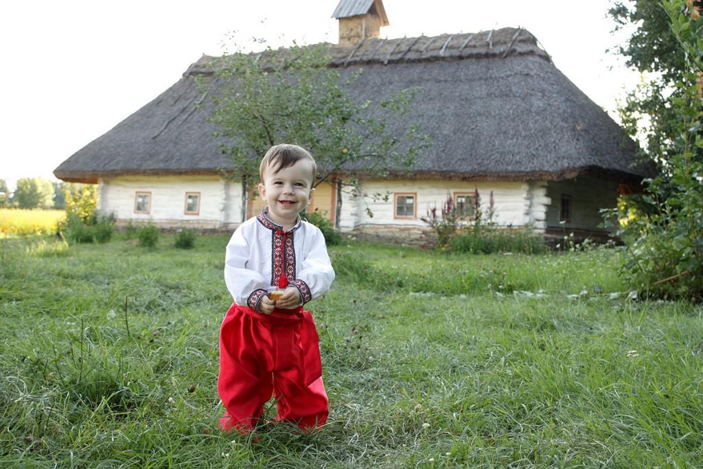 Фото маленького українця