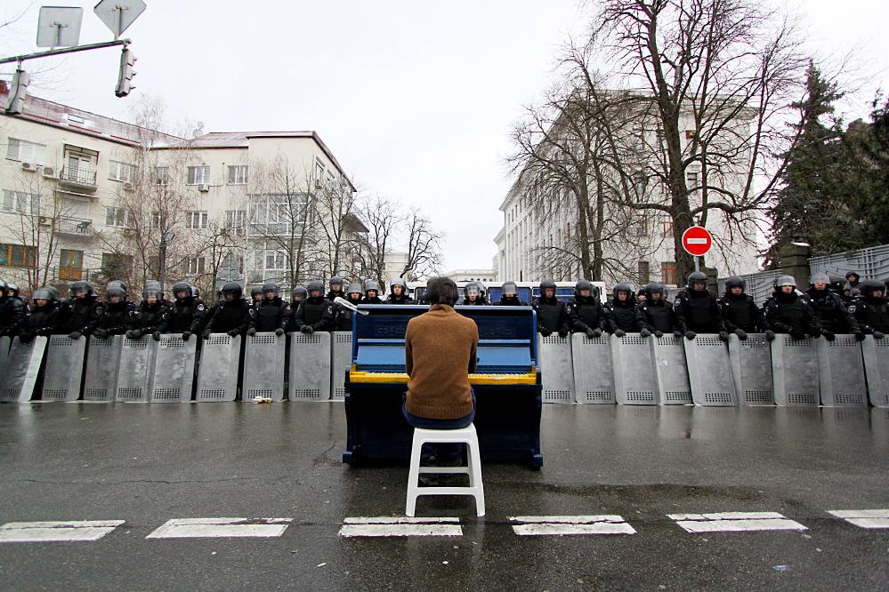 Фото Олега Мацеха, яке стало відомим на весь світ
