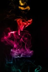 Одна з улюблених робіт. Коли звичайний дим виходить незвичайним...