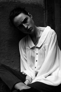 Дівчина. Чорно біле фото. Євген Кукулка