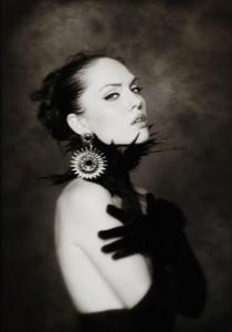 Анастасія Поддубна. Чорно-біла фотографія