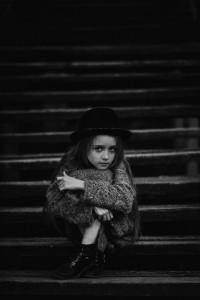 Дівчинка. Фото Аркадія Курти