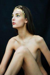 Оголена дівчина. Фото авторки