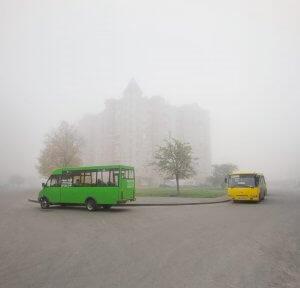 Ранковий туман. Дмитро Богачук