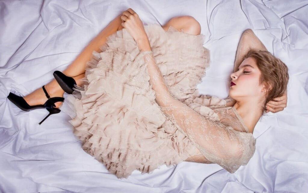 Дара Авраменко на фотосесії