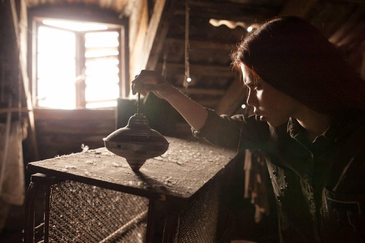 Дівчина на горищі. Давид Бугнар