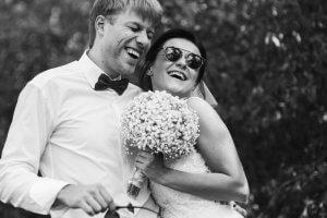 Молодята. Спільна фотографія наречених