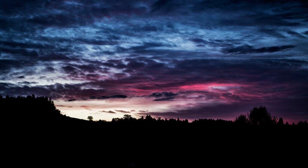 Мінливе осіннє небо