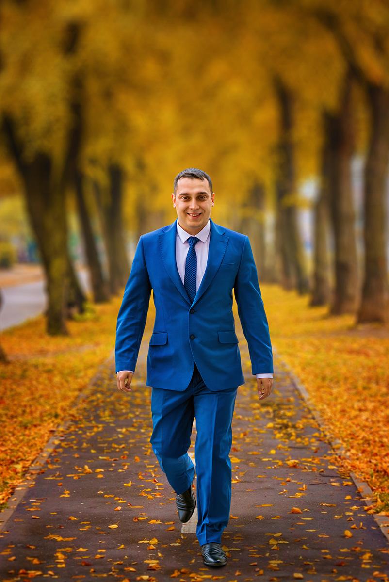 Осінь в костюмі
