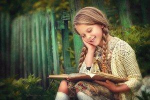 Портрет дівчинки. Фото Анни Мальцевої
