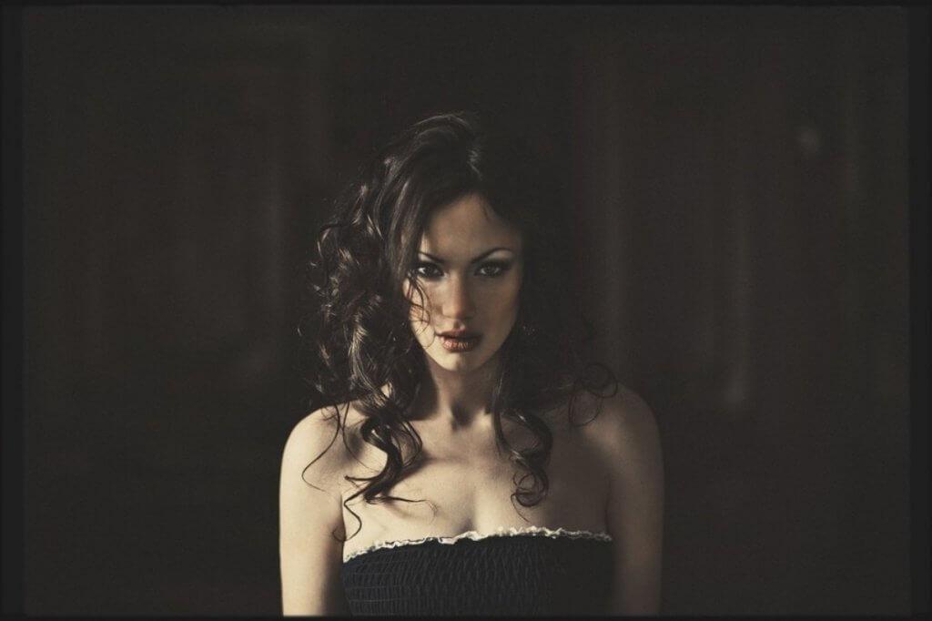 Портрет моделі Роксани Конюк