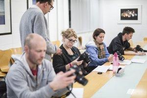 Учні фотошколи. Як стати фотографом?