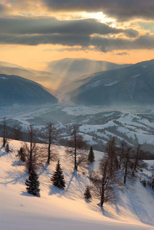 Зима в Карпатах. Павло Пивовар