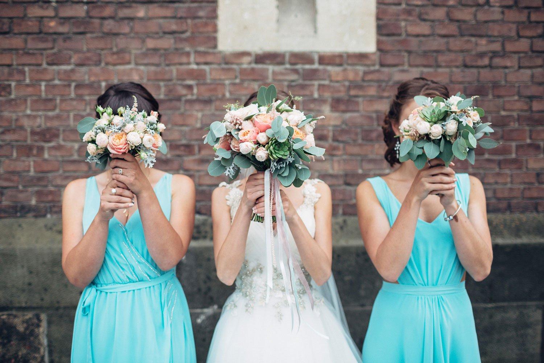 Дружки в блакитних сукнях