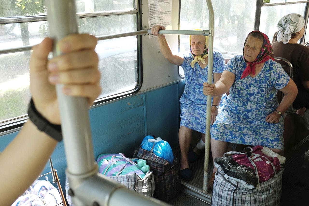 Тролейбус. Пенсіонери