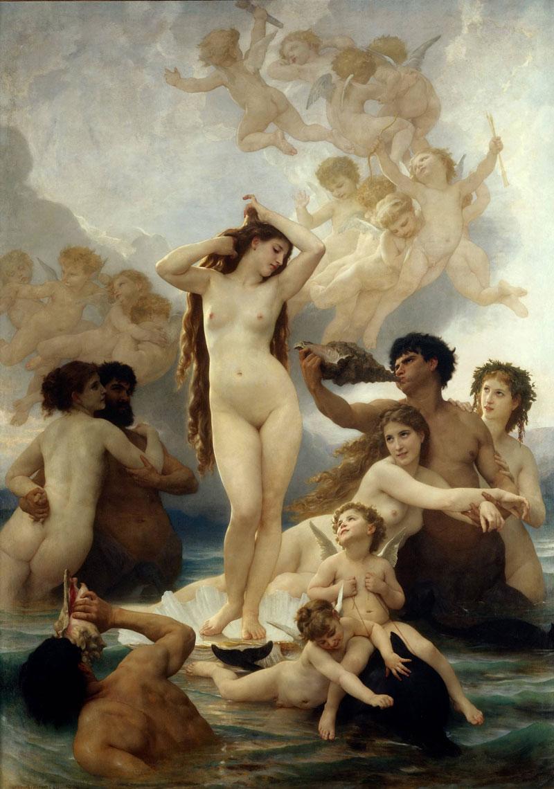 Картина Народження Венери