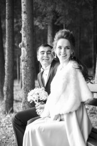 Фотографія наречених. Ірина Валах