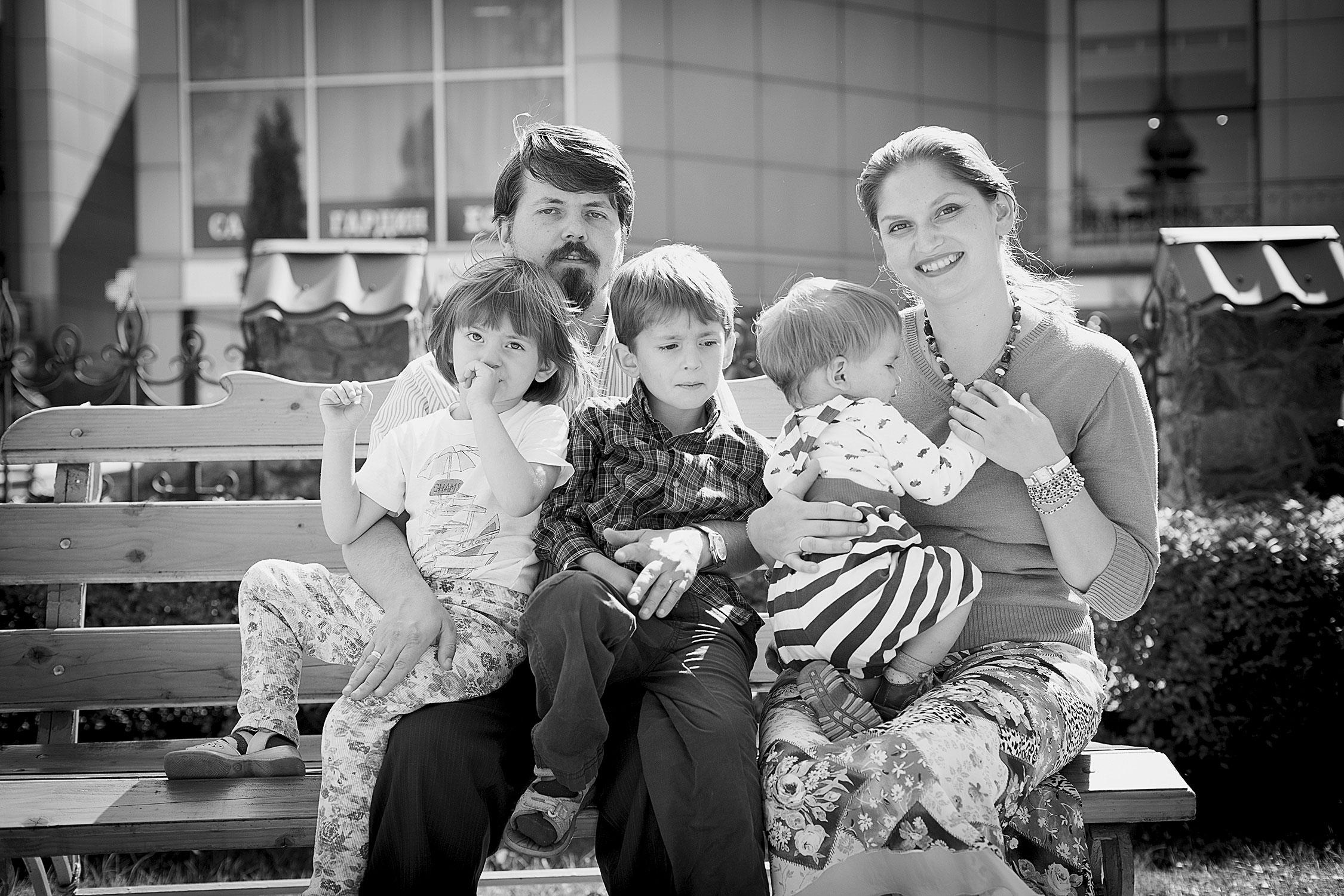 Фото родини з дітьми
