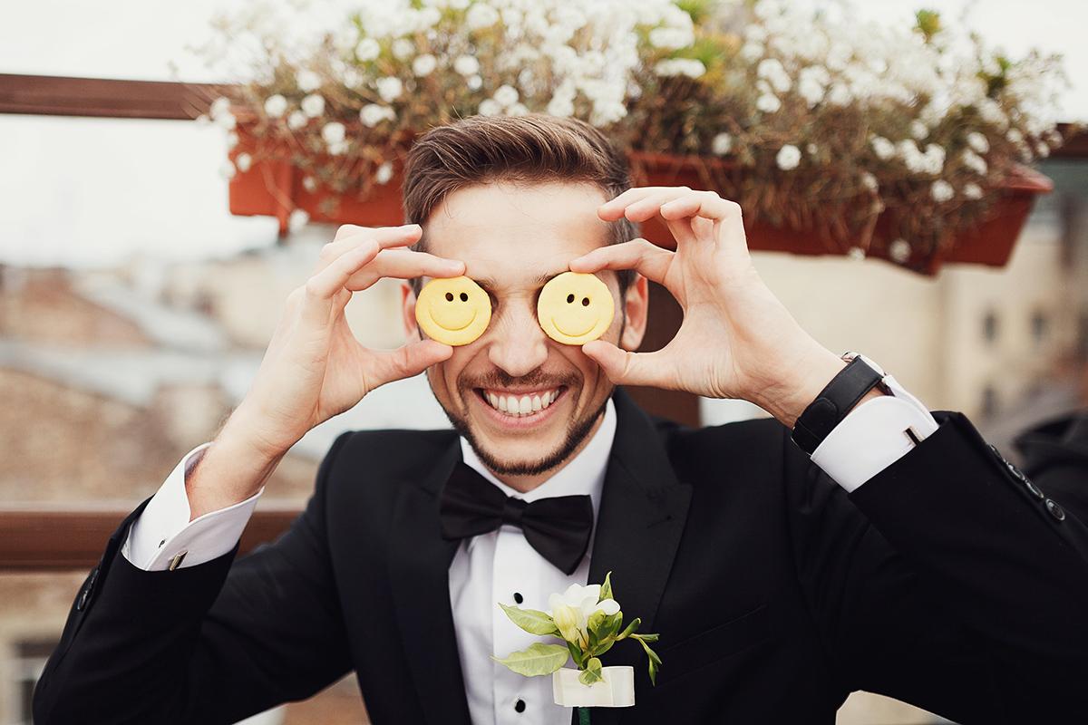 Усміхнений наречений