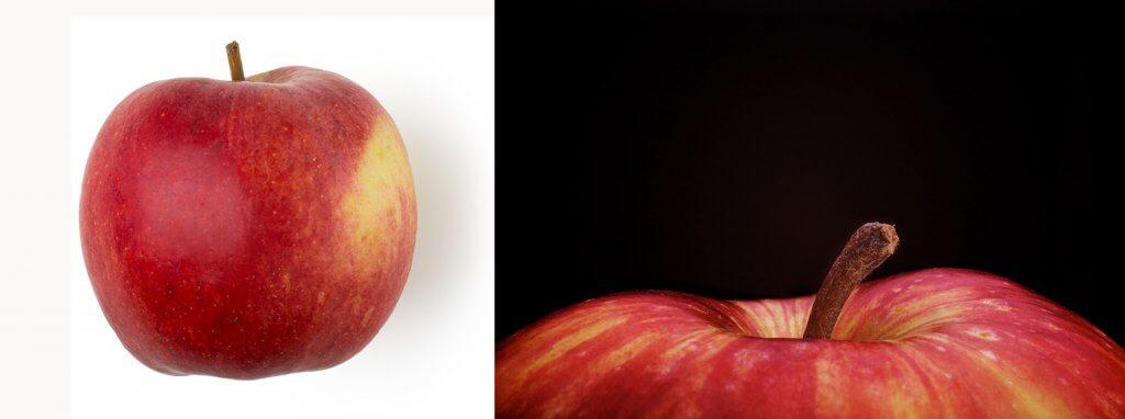 Червоні яблука