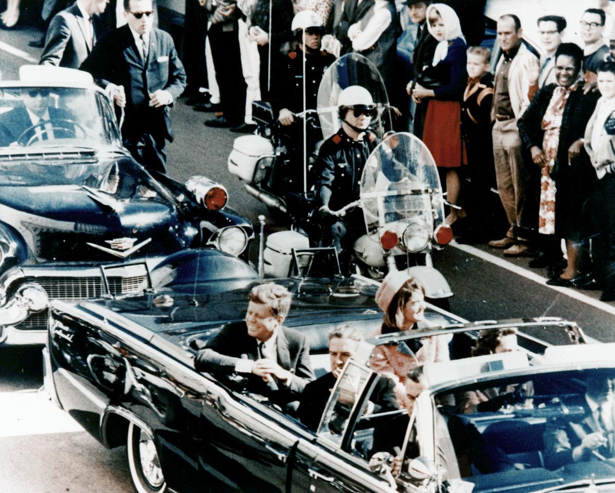 Фото в день смерті Кеннеді