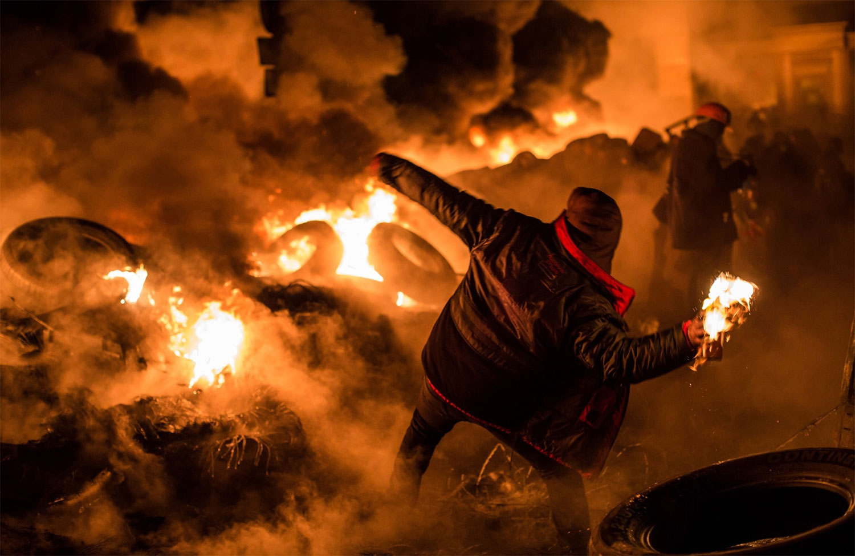 Революція в Україні, 2014 рік