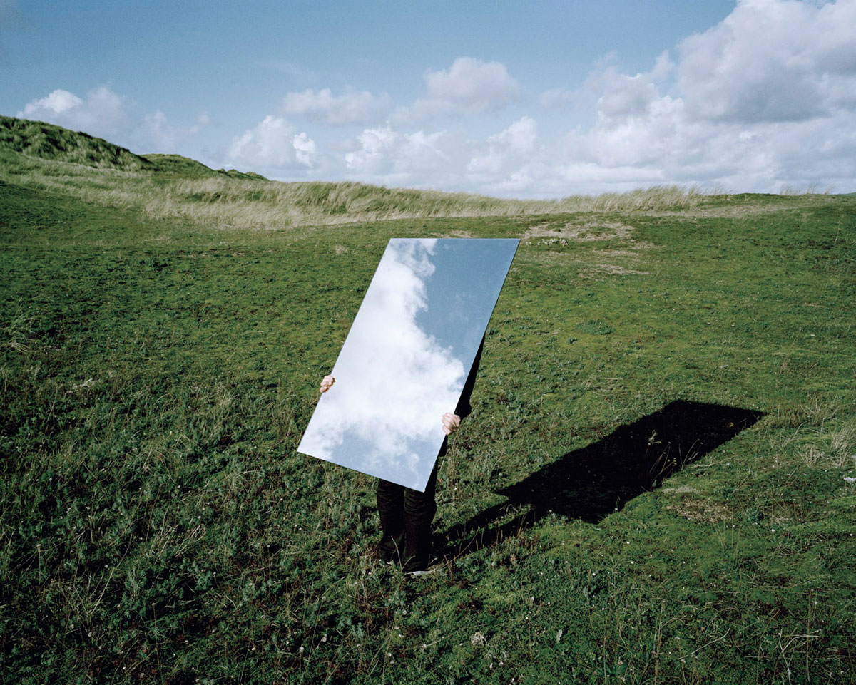 Арт фото з дзеркалом