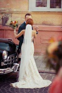 Олена Кавкун. Весільне фото